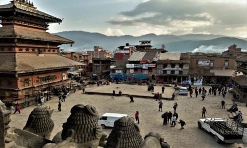 Zdjęcie NEPAL / Dolina Kathmandu / Bhaktapur / Taumadhi Square