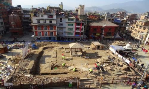 Zdjęcie NEPAL / Dolina Katmandu / Katmandu / Odbudowa