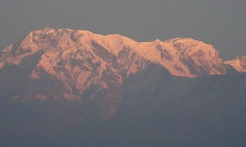 Zdjęcie NEPAL / Kaski / Sarangkot / Zapalenie szczytów