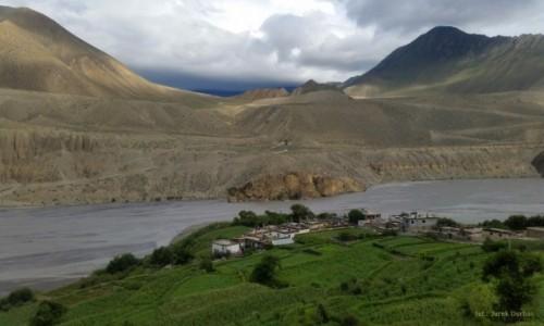 Zdjęcie NEPAL / Mustang / Tiri / wioska Tiri