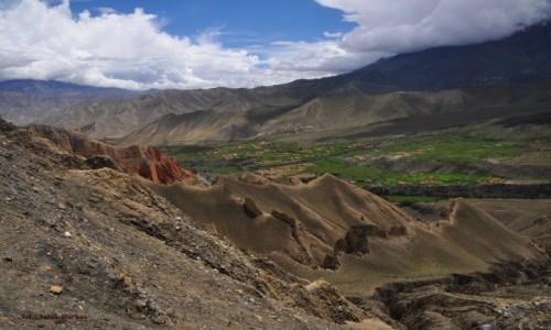 Zdjecie NEPAL / Mustang / podejście na przełęcz Mui 4170m / zdobywamy kolej