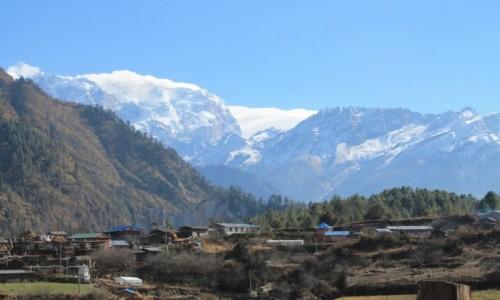 Zdjęcie NEPAL / Nepal Srodkowy / Wioska Thanchowk-2400 / Trekking  Annapurna Circuit