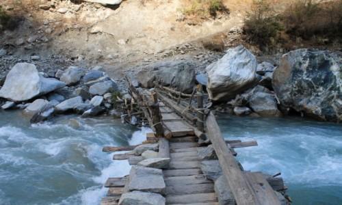 Zdjęcie NEPAL / Nepal Srodkowy Annapurna / pomiedzy Thanchok a Koto / Trekking  Annapurna Circuit