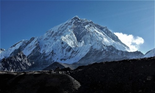 Zdjęcie NEPAL / Himalaje, rejon Khumbu Glacier / widok z osady Lobuche / Nuptse