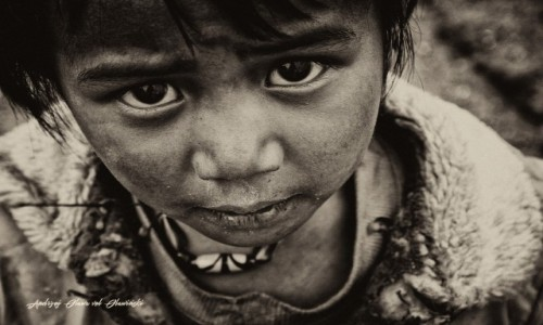 Zdjecie NEPAL / Solu Khumbu / Solu Khumbu / Portret Nepal img_0190