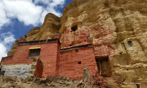Zdjecie NEPAL / Mustang / Dolina Choser / Choser gompa
