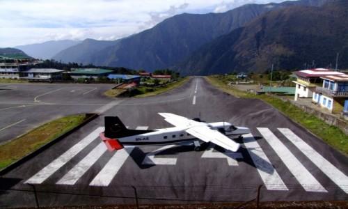 Zdjecie NEPAL / Khumbu / Lukla / Przygoda - oczekiwanie na start