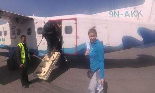 Zdjęcie NEPAL / Kathmandu / lotnisko / Samolot do Lukli