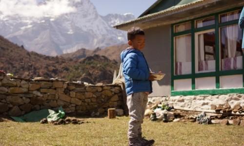 Zdjecie NEPAL / Khumbu / Kumjung / Kumjung