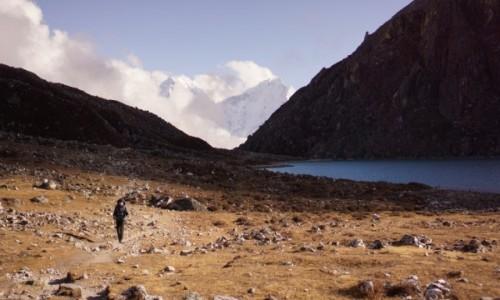 Zdjęcie NEPAL / Khumbu / Machermo / w drodze do Gokyo