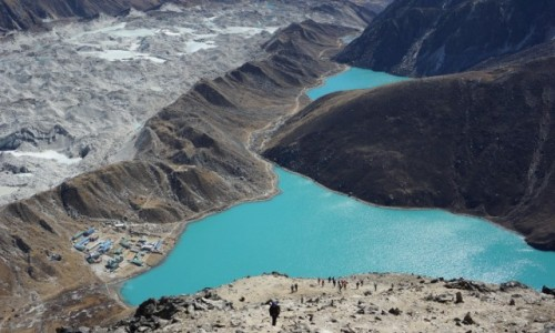 Zdjecie NEPAL / Khumbu / Gokyo Ri / Gokyo Ri - widok ze szczytu