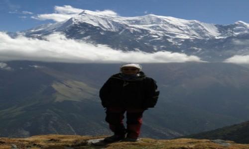 Zdjecie NEPAL / Dhaulagiri / zejście do  Marphy / na treku
