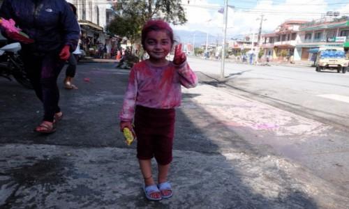 Zdjęcie NEPAL / Pokhara / Pokhara / Happy Holi!