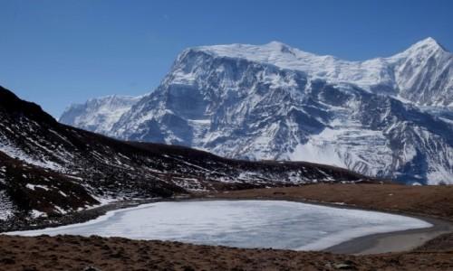 Zdjęcie NEPAL / Manang / Ice Lake / Ice Lake