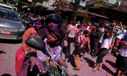 Zdjęcie NEPAL / Pokhara / Pokhara / Holi Festival