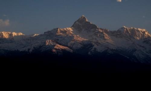 Zdjecie NEPAL / Pokhara / Sarangkot / Widok z z Sarangkot