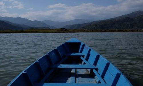 Zdjecie NEPAL / Pokhara / Phewa Lake / Na końcu Phewa Lake