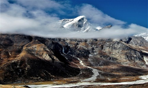 Zdjecie NEPAL / Himalaje, rejon Ama Dablam / osada Dusa / Taboche Peak