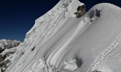 NEPAL / Himalaje, rejon Khumbu Glacier / Grań szczytowa /  Lobuche