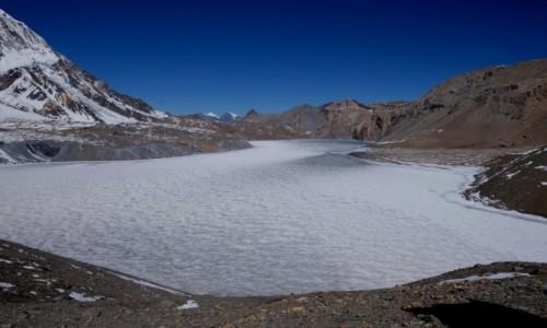 NEPAL / Annapurna Conservation Area / Tilicho lake / Tilicho lake