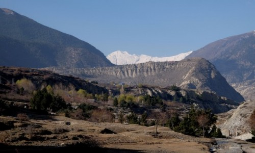 NEPAL / Annapurna Conservation Area / Jomson / Szlak z Jomson do Marpha