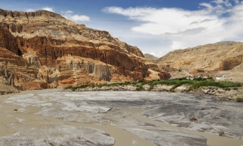 Zdjecie NEPAL / Mustang / Chuksang / Chuksang i Kali Gandaki