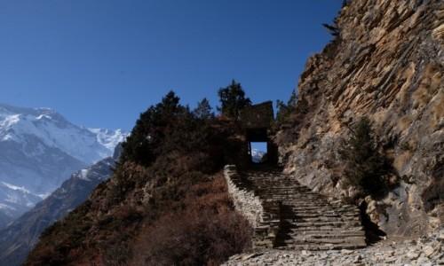 Zdjecie NEPAL / Annapurna Conservation Area / Ghyaru / Szlak do Bragi z Ghyaru