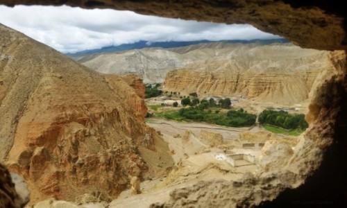 Zdjecie NEPAL / Mustang / Dolina Chooser  / Chooser Valley