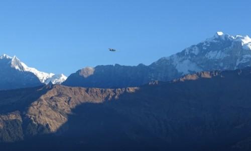 Zdjecie NEPAL / Annapurna Circuit / w drodze z Poon Hill / Samolot z Jomsom-dla tych, co do Mustangu :)