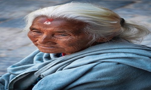 Zdjecie NEPAL / Katmandu / Durbar Square / szarość...