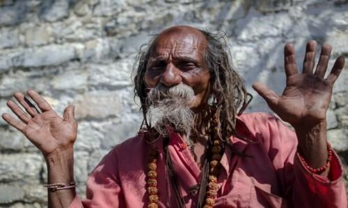 Zdjęcie NEPAL / Mustang / Muktinath / gawędziarz...