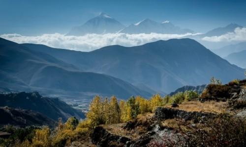 Zdjecie NEPAL / Mustang / Jhong / nad chmurami...