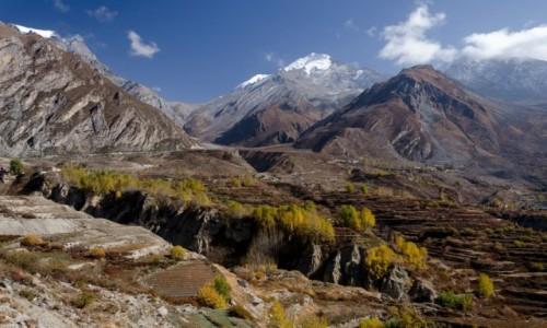 Zdjecie NEPAL / Mustang / Jhong / klif...