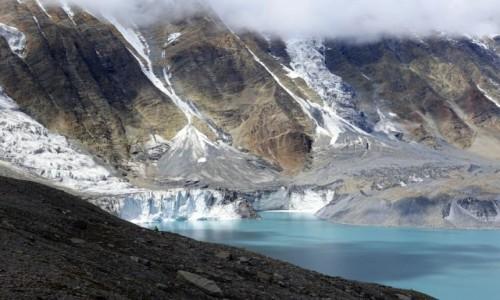 Zdjecie NEPAL / Annapurna / Annapurna / Lodowiec