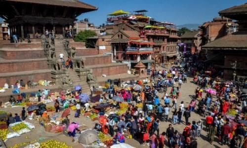 Zdjęcie NEPAL / Dolina Katmandu / Bhaktapur / mrowisko...