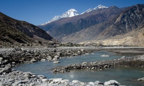 Zdjęcie NEPAL / Dolny Mustang / Jomsom / doliną...
