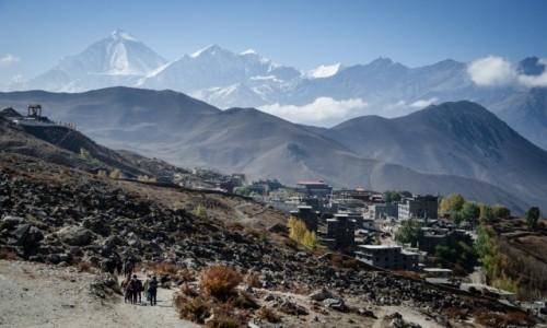 Zdjęcie NEPAL / Dolny Mustang / Muktinath / górą...