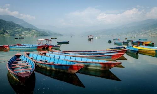 Zdjecie NEPAL / Pokhara / Phewa Tal / układanka...