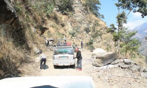 Zdjęcie NEPAL / - / Droga do Bhulbhule / Kierunek-Bhulbhule