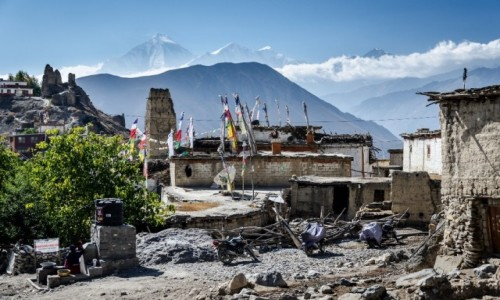 Zdjęcie NEPAL / Mustang / Jhong / zamek...