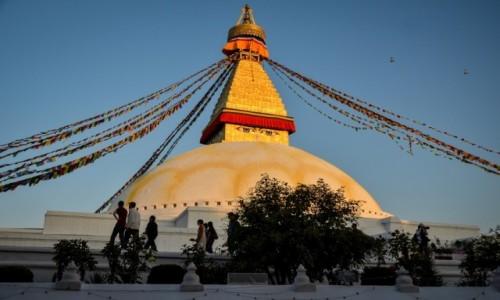 Zdjęcie NEPAL / Dolina Katmandu / Boudhanath / oczy...