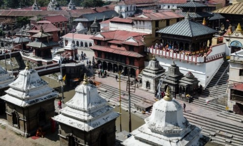 Zdjęcie NEPAL / Dolina Katmandu / Paszupatinath / sacrum...