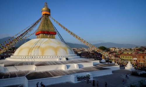 Zdjęcie NEPAL / Dolina Katmandu / Swayambunath / na wysokości...