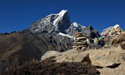 Zdjecie NEPAL / Himalaje, Sagarmatha Himal / powyżej Dingboche / Taboche Peak