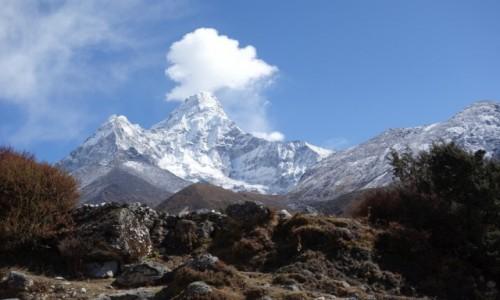 Zdjecie NEPAL / Park Narodowy Sagarmatha / Treking EBC / Dymiąca