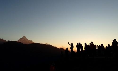 Zdjecie NEPAL / poon hill / poon hill / podziwiać widoki