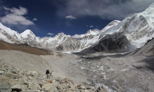 Zdjecie NEPAL / Park Narodowy Sagarmatha / Lobuche-Gorak Shep / EBC