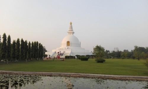 Zdjecie NEPAL / Południowy Nepal / Lumbini / World Peace Pagoda