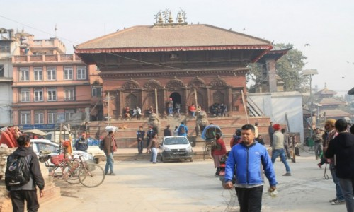 Zdjecie NEPAL / Katmandu / Swiątynia Śiwy i Parwati  / Starowka-Durbar square