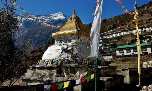 Zdjecie NEPAL / Himalaje / Namcze Bazar / Kongde Ri